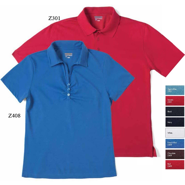 Chelsea - 5 X L - Short Sleeve Dri-balance(tm) Polo, 53% Combed Cotton/47% Microfiber Polyester Photo