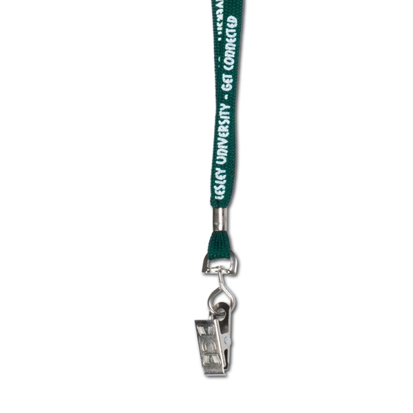 "Standard Length Lanyard With Swivel Bulldog Attachment, 3/8"" X 18"" Photo"
