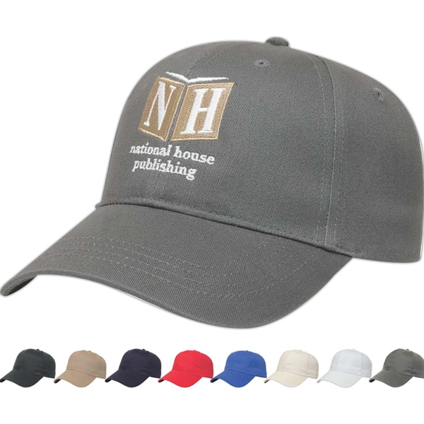 X  Series  X -tra Value - Low Profile Six Panel Structured Cap Made Of Brushed Cotton Twill Photo