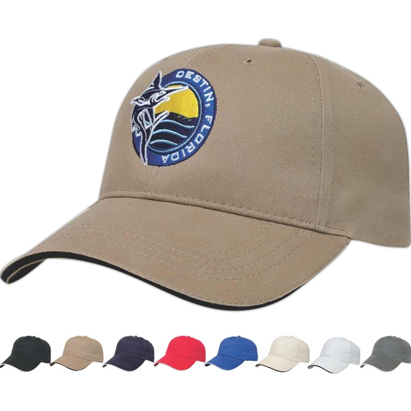 X -tra Value  X  Series - Low Profile Six Panel Structured Cap With Two Piece Velcro Photo
