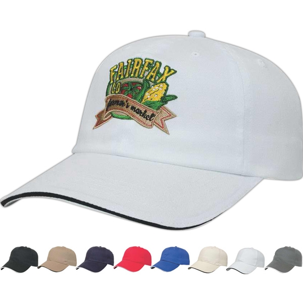 X -tra Value  X  Series - Low Profile Six Panel Unstructured Cap With Two Piece Velcro Photo