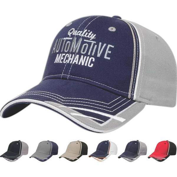 Classic Series - Medium Profile Cotton Twill Six Panel Structured Cap Photo