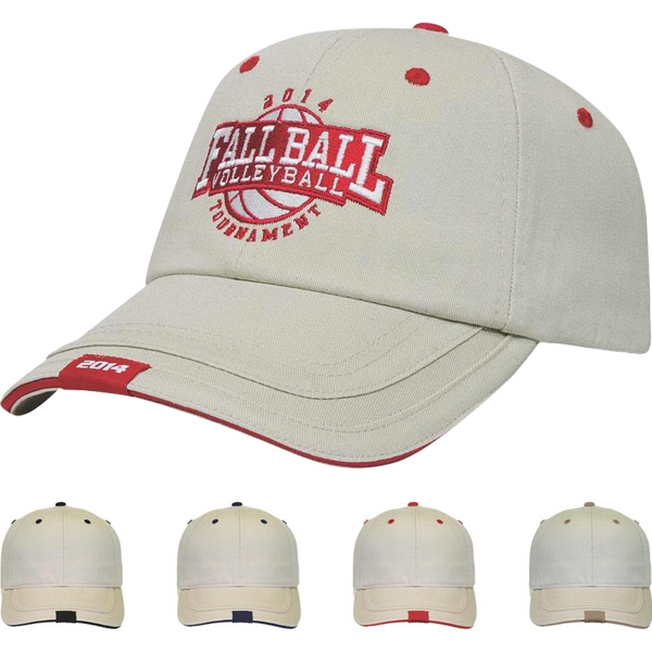 Classic Series - Low Profile Six Panel Soft Structured Sandwich Loop Label Cap Photo