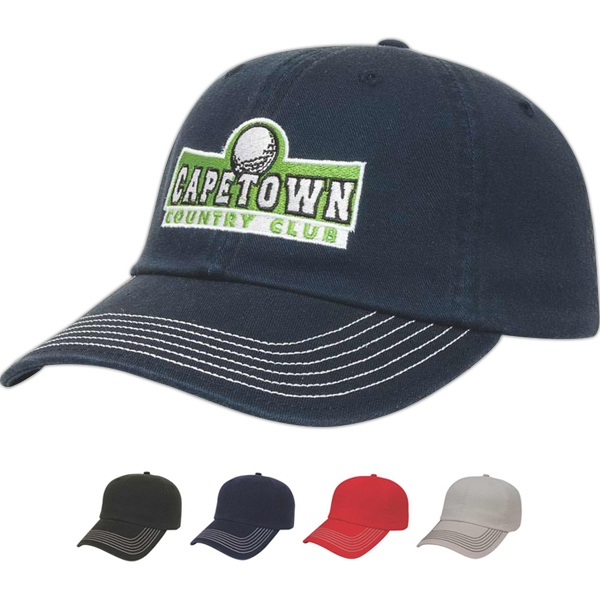 Golf & Resort Series - Low Profile 6 Panel Unstructured Cap Photo