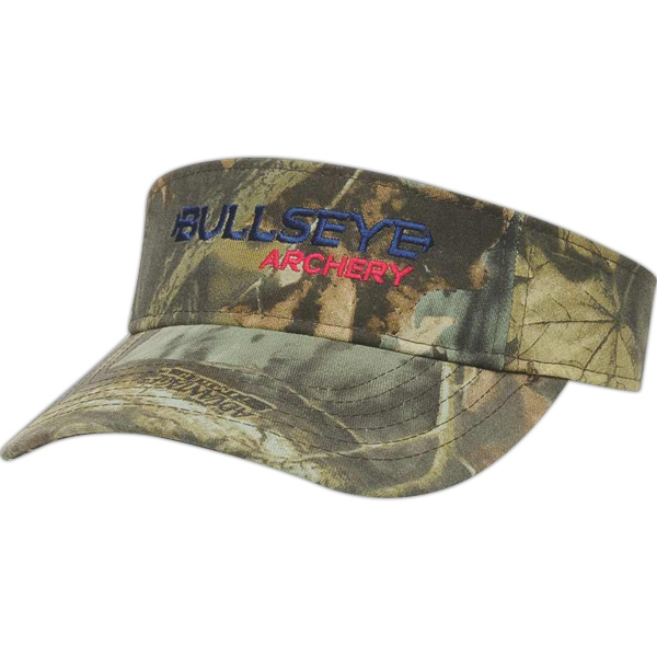 Camouflage Series - Camouflage Twill Visor With Two Piece Velcro Photo