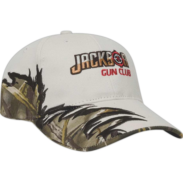 Camouflage Series - Medium Profile Six Panel Structured Jagged Wave Cap Photo