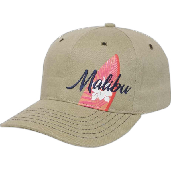 Made In The Usa Series - Structured Low Profile 6 Panel Cap Photo