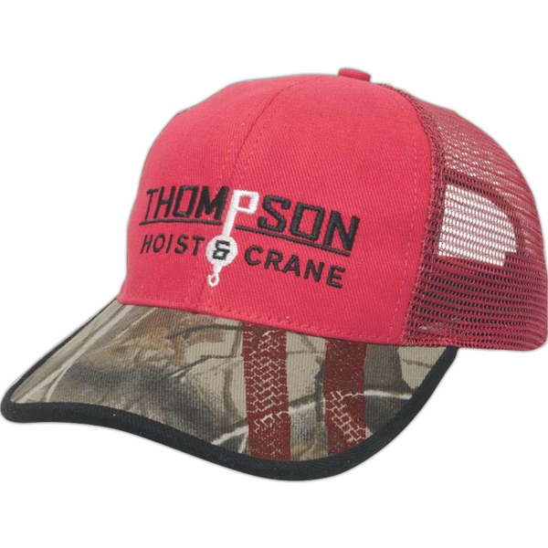 Made In The Usa Series - Six Panel Medium Profile Mesh Back Cap Photo