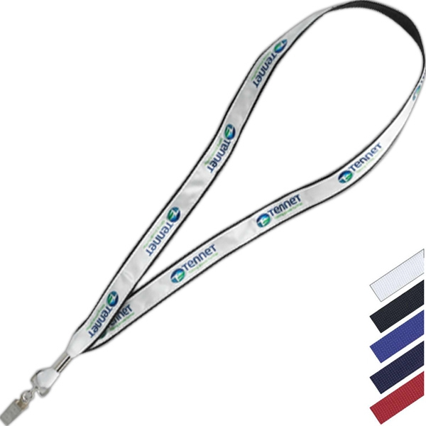 "Factory Direct Lanyard In 3/4"" X 34"" To 35"" Size Photo"