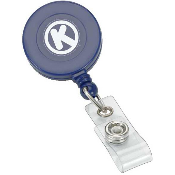 Handy Retractable Badge Reel With Swivel Bulldog Clip Photo