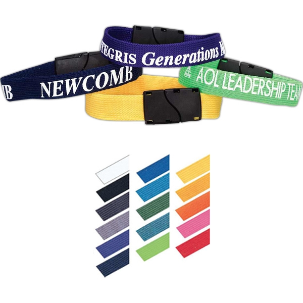 Nylon Elastic Breakaway Wristband Photo