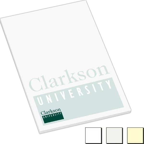 "100 Sheet Count - Earth Friendly 4"" X 6"" Adhesive Notes Available With 100% Recycled Paper Photo"