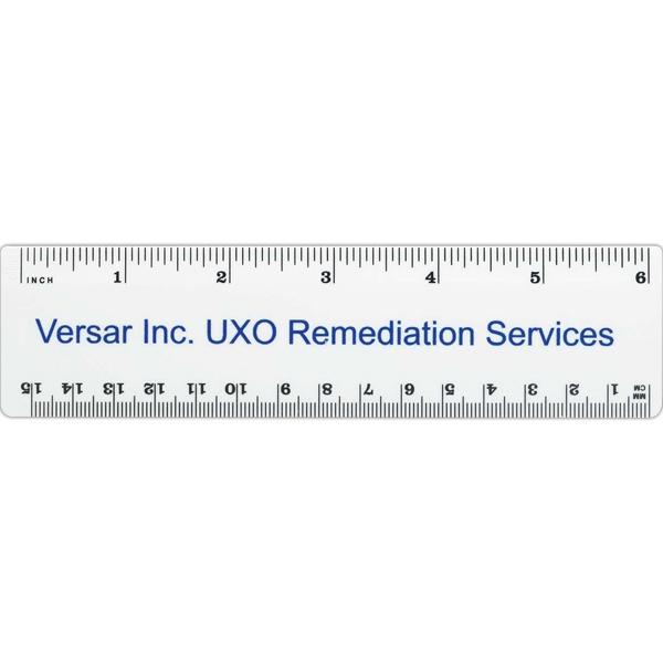 Ruler With 6-inch And Metric Scales Photo