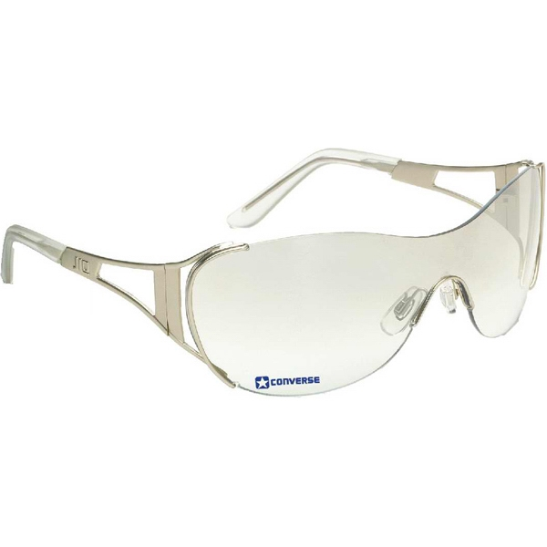 Diva - Wraparound Sunglasses With Silver Metal Frame And Indoor/outdoor Lenses Photo