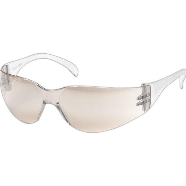 Safety Glasses With Polycarbonate Lens And Temple Photo