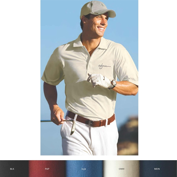 Izod - 2 X L-3 X L - Polo Shirt Features 55% Pima Cotton/45% Polyester Photo