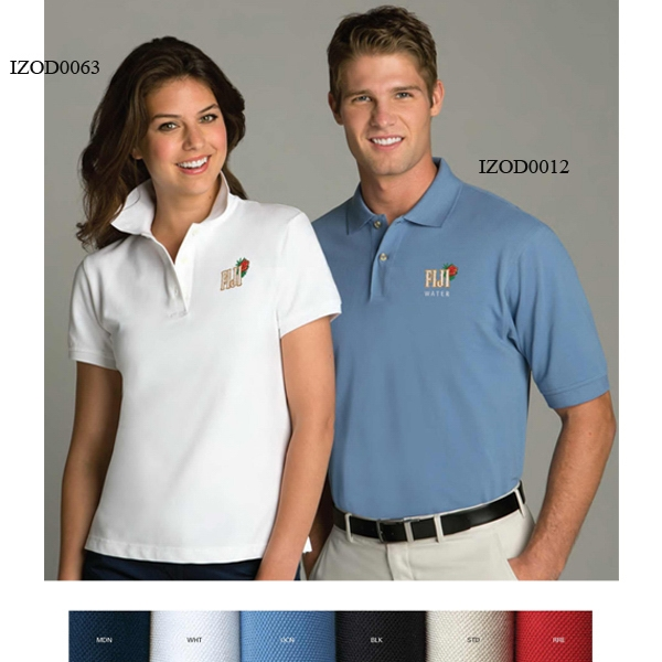 Izod - S- X L - Silkwash Polo Shirt Photo