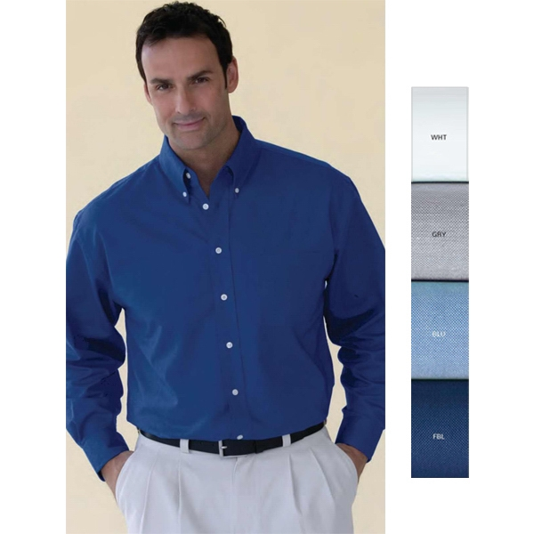 Velocity - 2 X L-3 X L - Oxford Shirt With 60% Cotton/40% Polyester Photo
