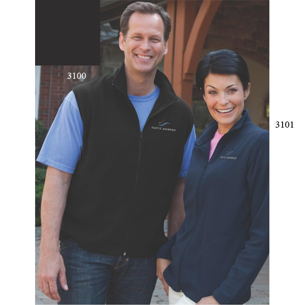 Pioneer Vantek (tm) - 2 X L-3 X L - Women's Fleece Jacket Made Of 100% Polyester; 5 1/2 Oz Photo