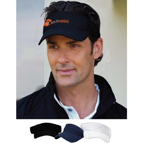 Vansport (tm) - Mesh Visor Cap Made Of 100% Polyester Photo