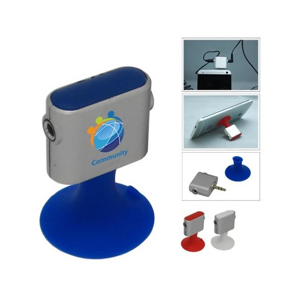 Ear Bud Splitter/Phone Stand