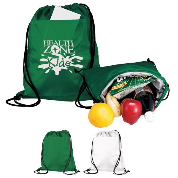 Backpack Cooler With Drawstring Cinch Closure Photo