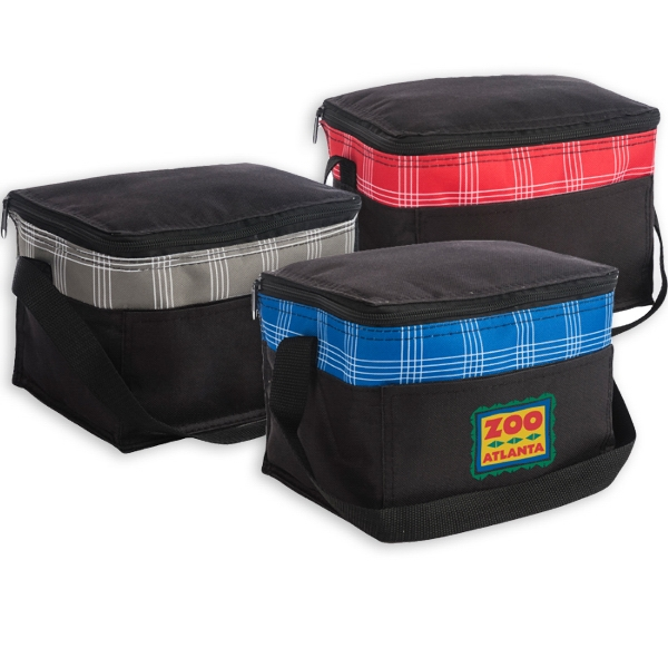 HARPER PLAID COOLER BAG-IMP