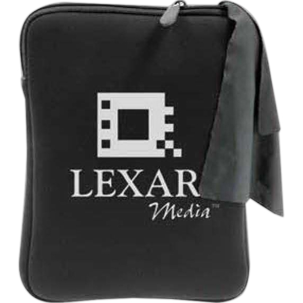 Neoprene Zippered Sleeve For Tablet Photo