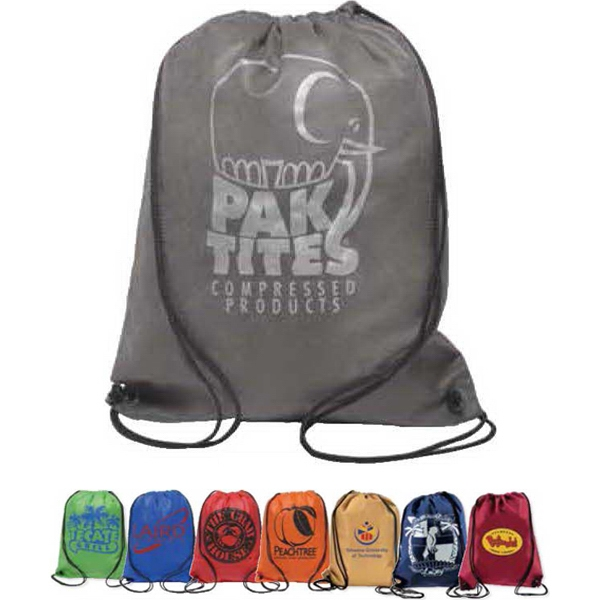 Aero - Non-woven Backsack With Drawstring Construction Photo