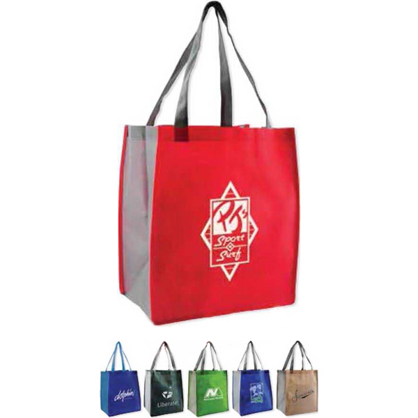 Habitat - 80gsm Non-woven Bag With Contrasting Color Scheme On Handles Photo