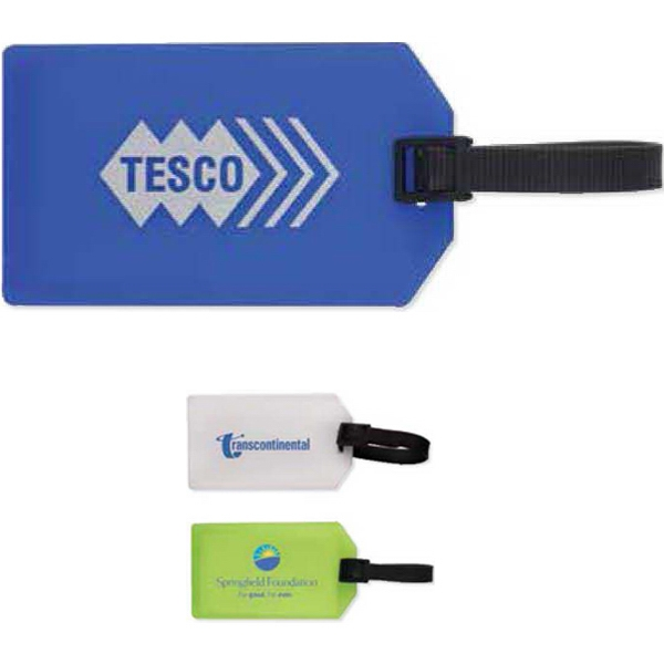 Luggage Tag/business Card Holder Photo