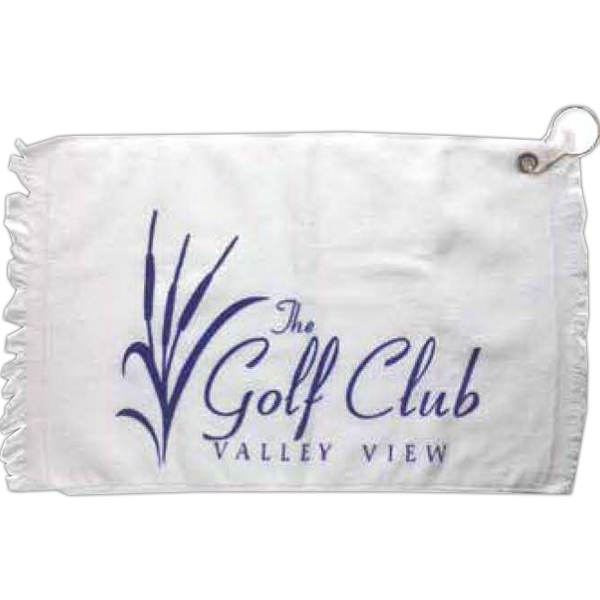 Golf Towel With Carabiner Style Hook Photo