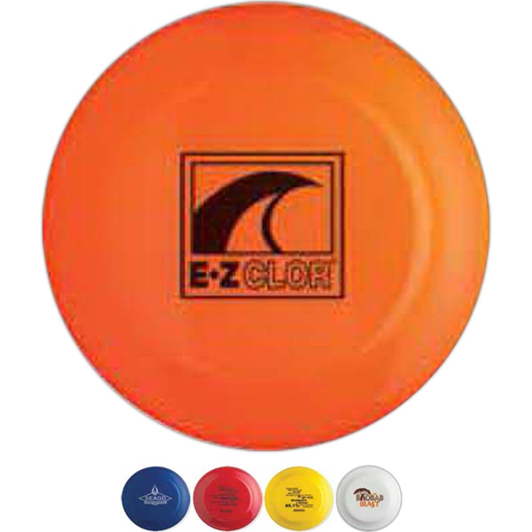 "Crown - Full Size 9"" Flying Disc In Neon Colors Photo"
