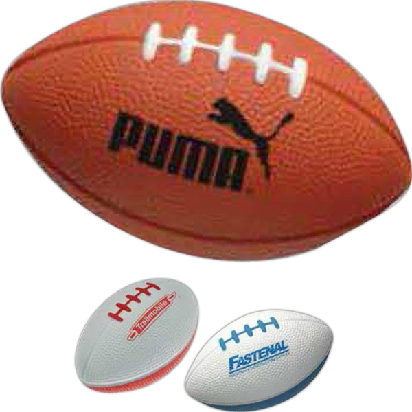 Football Shaped Stress Reliever Photo