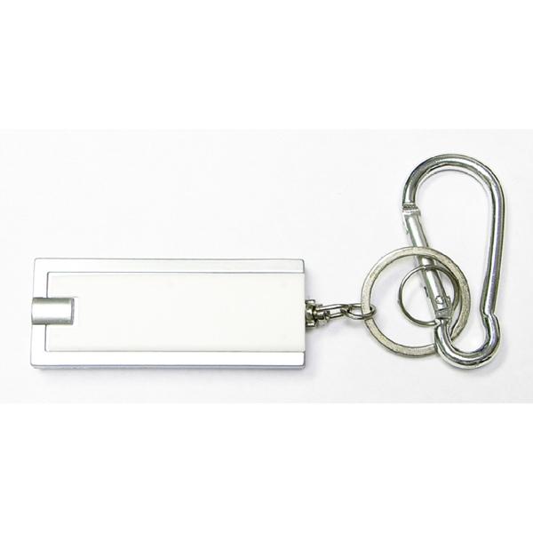Flashlight key chain