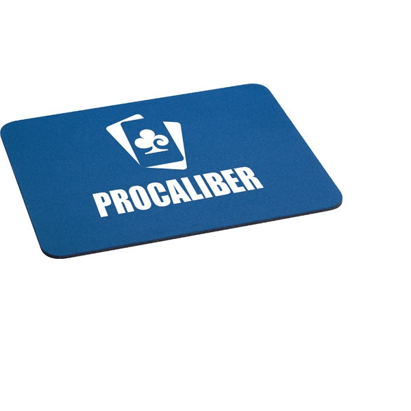 "1/8"" Rectangular Rubber Mouse Pad Photo"