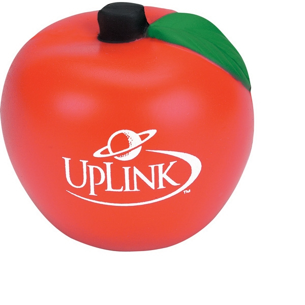 Apple Shaped Stress Reliever. Polyurethane, Squeezable Foam Photo