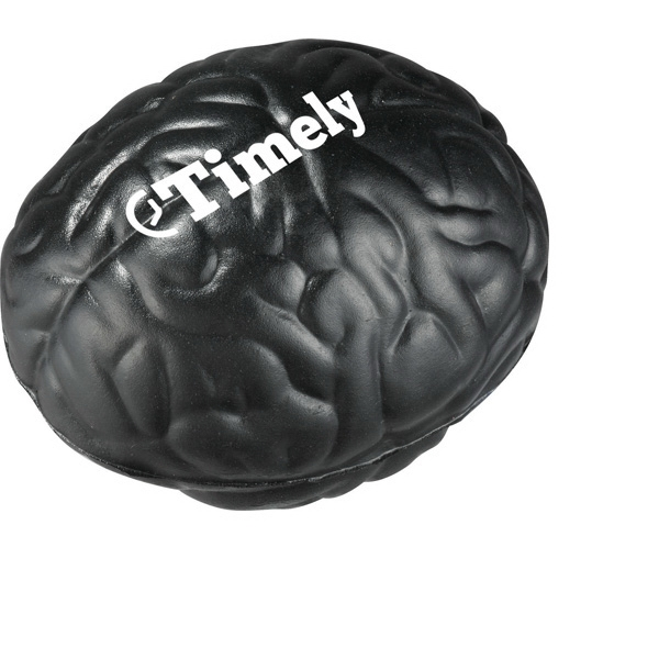 Brain Shaped Stress Reliever. Polyurethane, Squeezable Foam Photo