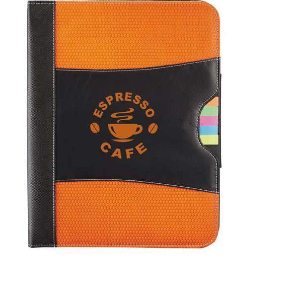 Laminated Polypropylene Cover Portfolio With Sticky Flag, Business Card Pockets Etc Photo