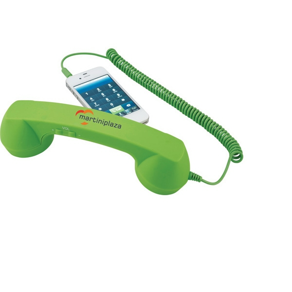 Retro Handset Made From Abs Plastic Photo