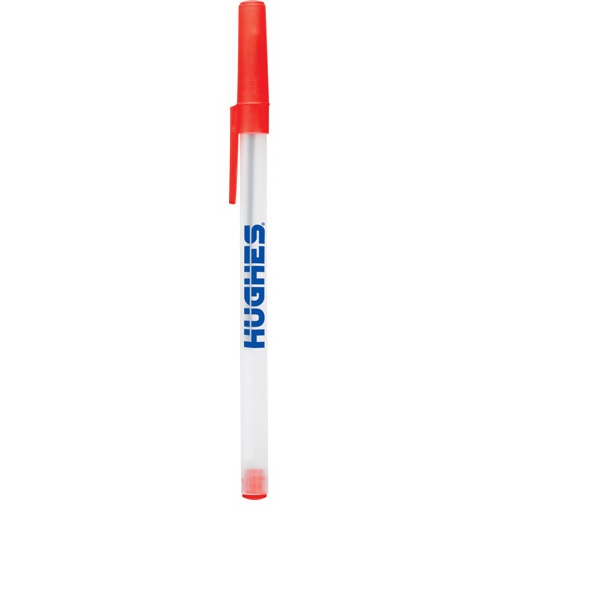 "Smart Stick (r) - Plastic, 5 3/4"", Ballpoint Pen With Removable Cap Photo"