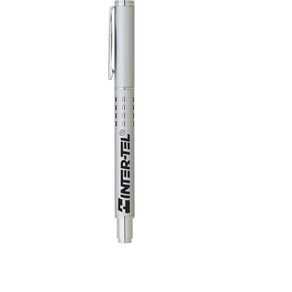 Imperial - Rollerball Pen With Matte Finish Over Chrome Plated Brass Photo