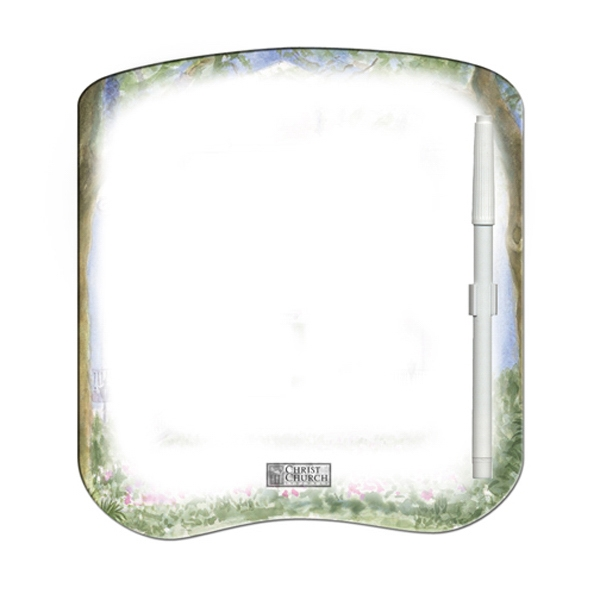 Bread Slice Shaped Dry Erase Memo Board With Marker Photo
