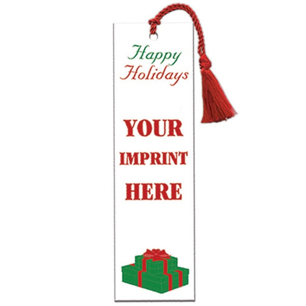 Bookmark With Happy Holidays Design Photo
