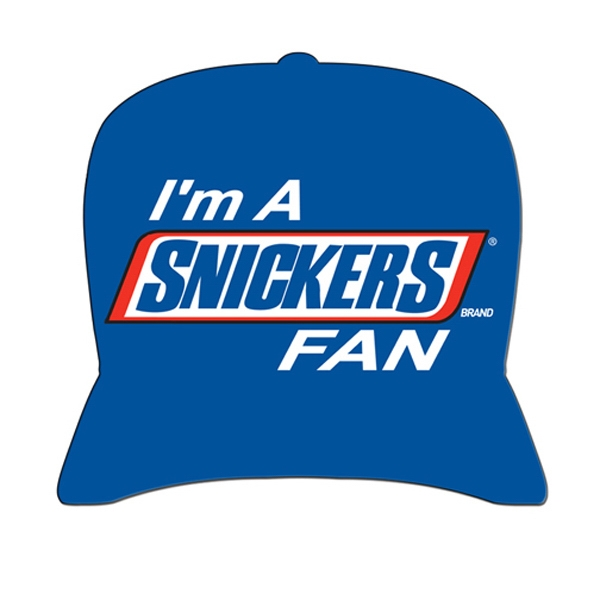 Baseball Cap Shaped Hand Fan Without Stick With A High Gloss Finish Photo