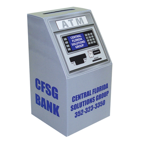 Atm/slot Machine Shape Bank Photo