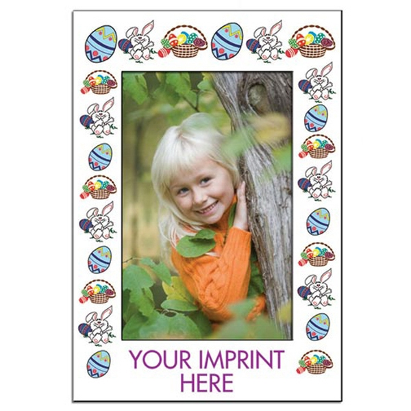 "Easter Photo Frame With 3 1/2"" X 5 1/2"" Die Cut Window Photo"