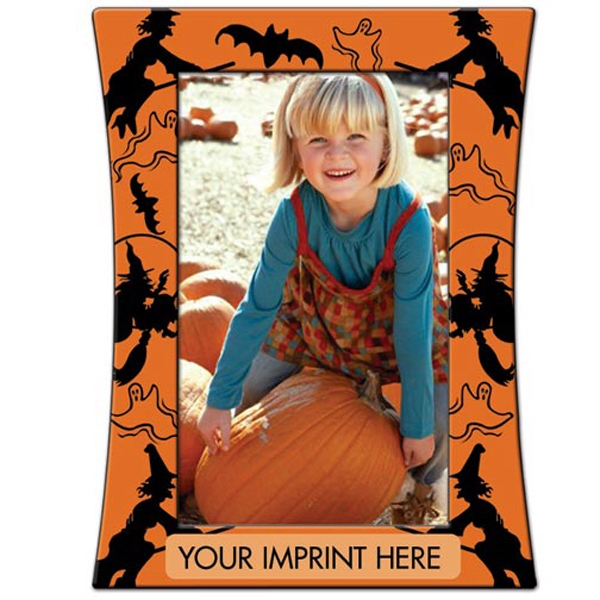 "Halloween Photo Frame. 7 1/2"" X 5 1/2"" Photo"