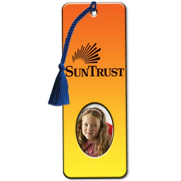 Bookmark With Oval Photo Frame Photo