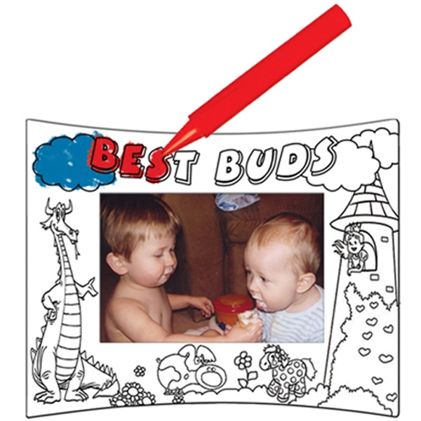 U-color - Photo Frame That You Can Color Photo